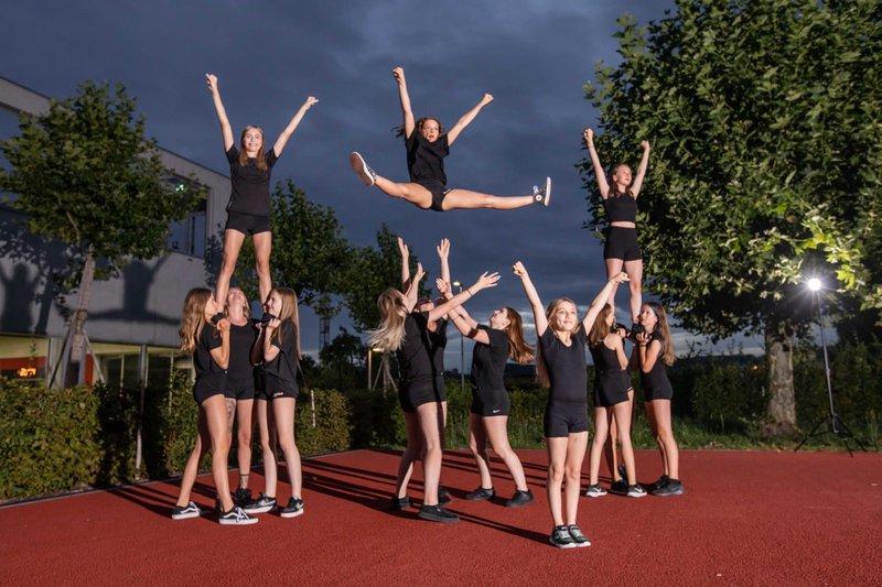 Black Devils Cheerleader
