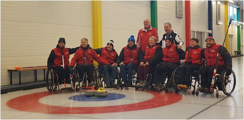 Club fauteuil roulant Lausanne - Section curling