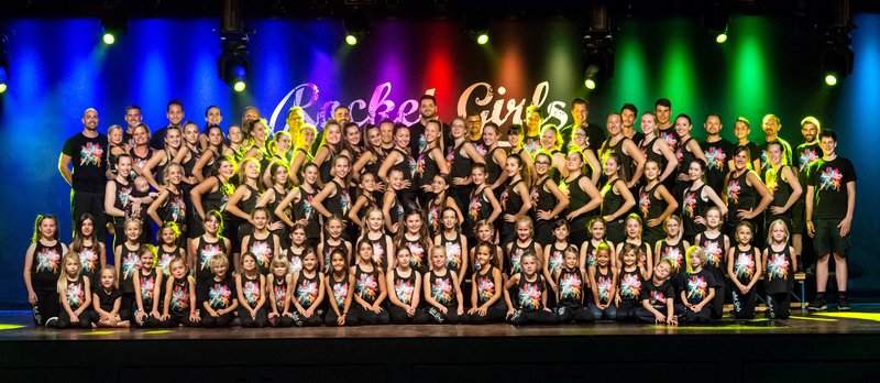 Rocket Girls Dance Formation