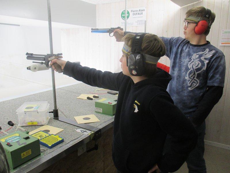 Société de tir au pistolet La Vignerole
