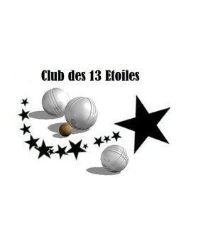 club de pétanque  les 13 Etoiles