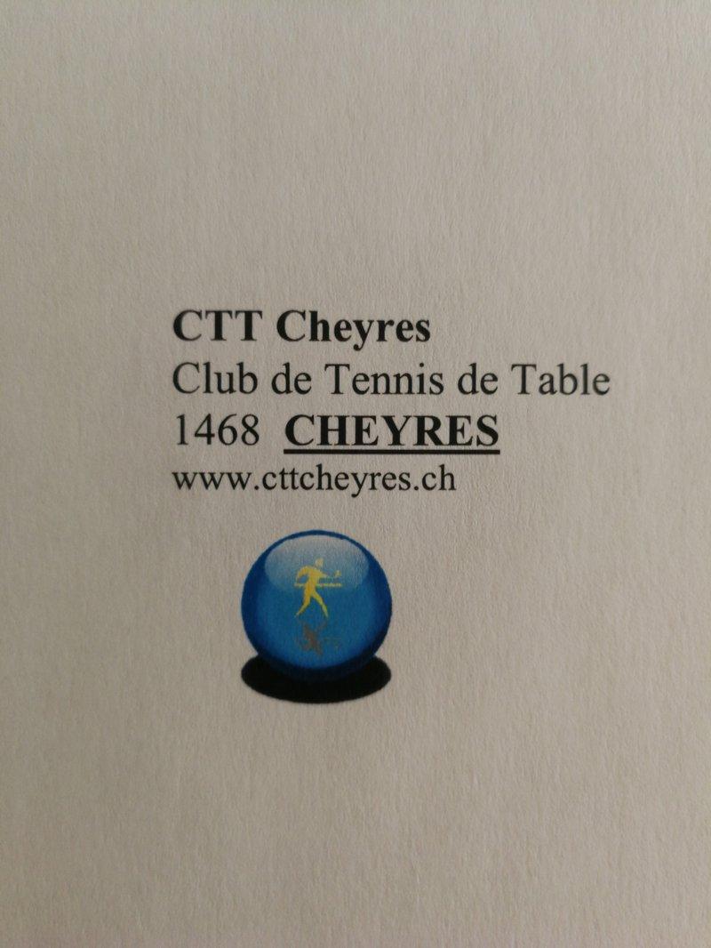 Club Tennis de Table Cheyres