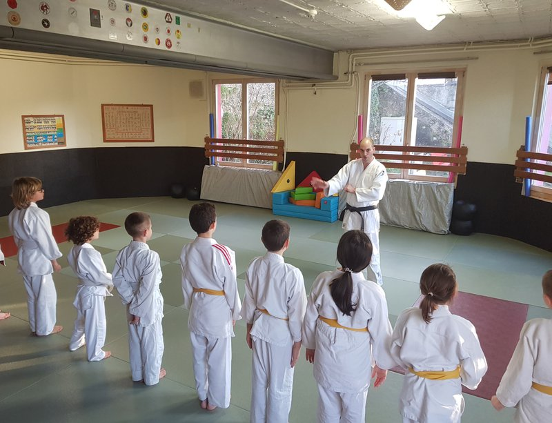 Ecole de judo Dégallier d'Orbe