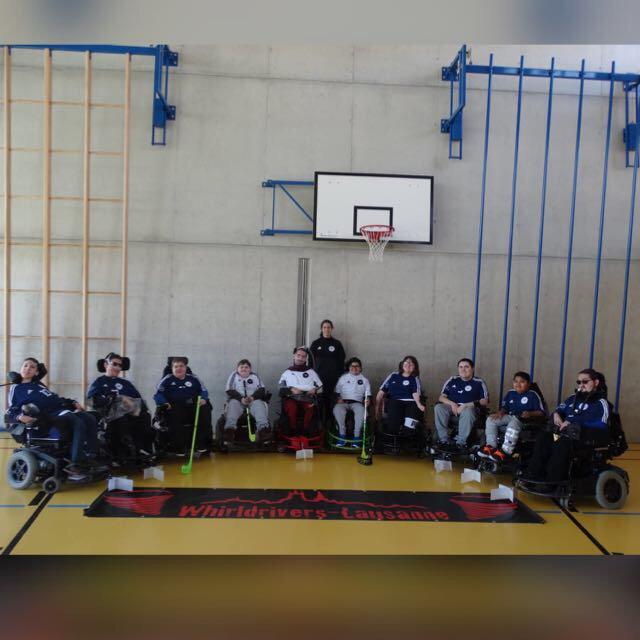 Club en fauteuil roulant de la Côte