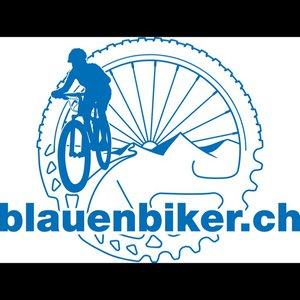 Blauen Biker Mountain-Bike-Club